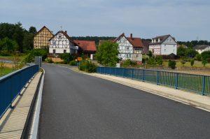 Grebenau-Blick von der Brücke