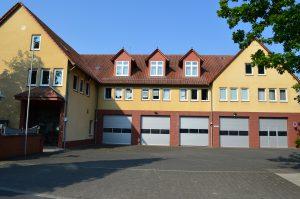 Guxhagen-Gemeindeverwaltung und Feuerwehr